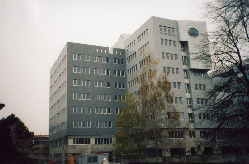 Ministry for traffic and infrastructure, Langusova ulica, Ljubljana
