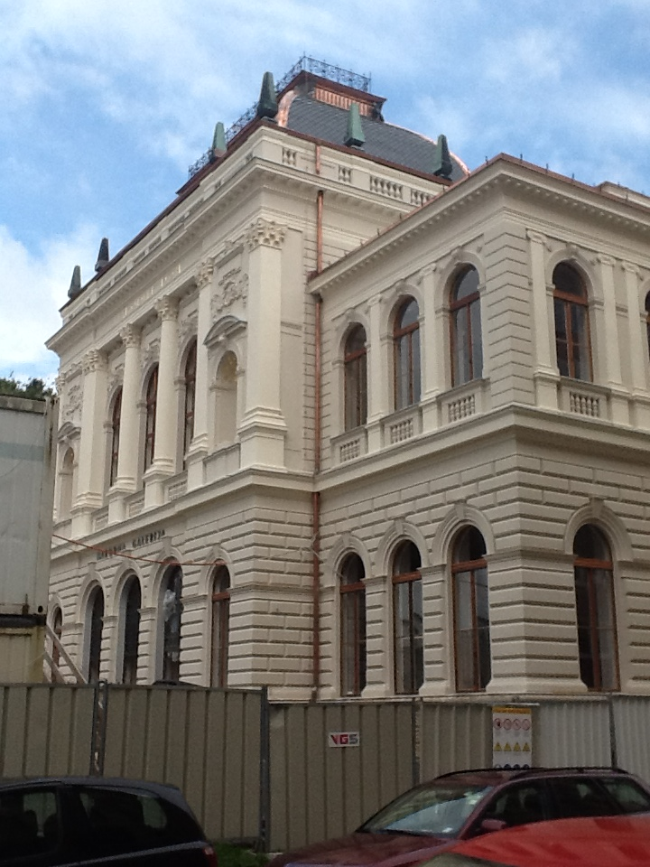 Renovation of  National Gallery in Ljubljana