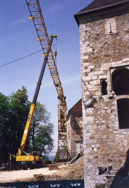 Renovation of Ljubljana castle