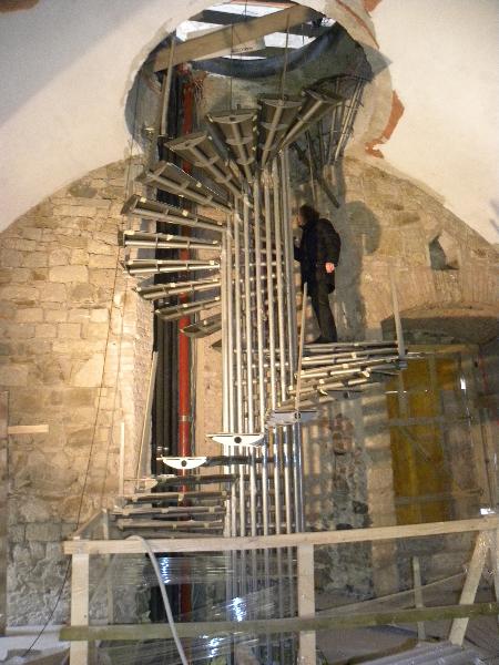 Steel stairs, Ljubljanski grad