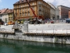 Renovation of Ljubljanica river bank, Breg 2
