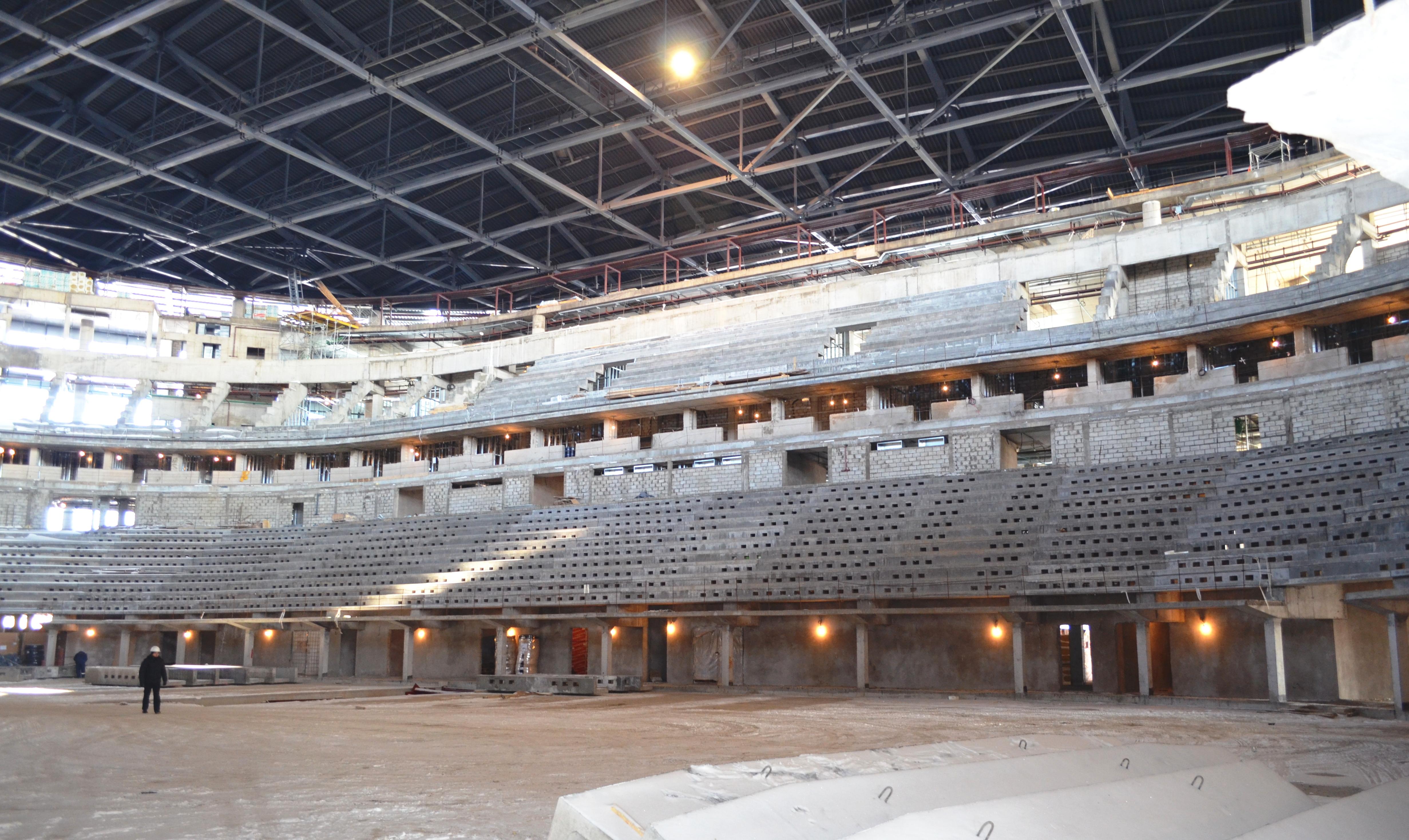 Arena Hockey Stadium Astana, Kazahstan